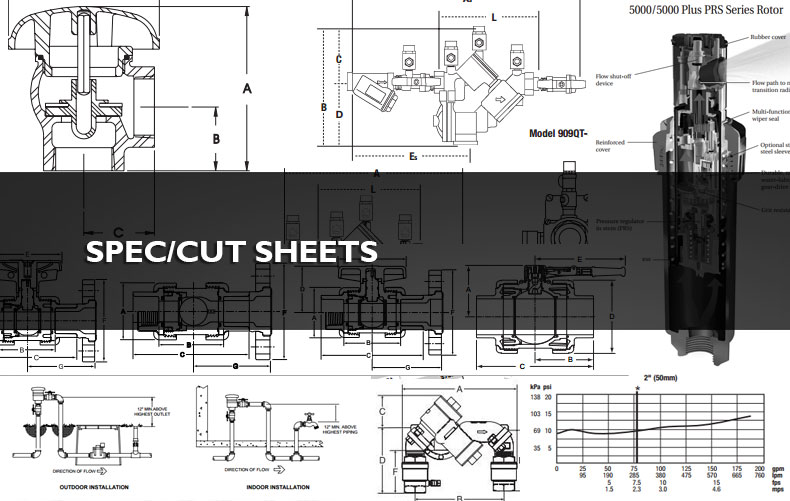 CPS distributors cut sheets