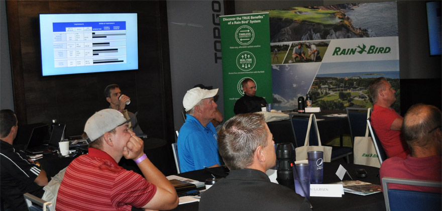 Rain Bird and CPS 2018 Golf Summit in Denver, CO