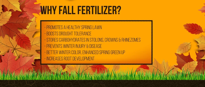 Fall Fertilizer Colorado
