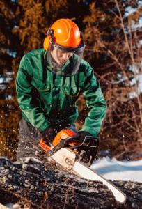 Landscaper Safety Chainsaw